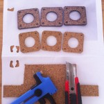 Making some cork-gasget (makerbot style)
